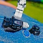 Lord Vader cannot cope on roundabouts by Mark Dobson