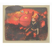 Care for you and Cry for you - [Mother 3] Photographic Print