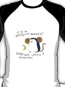 Penguin Monkey T-Shirt