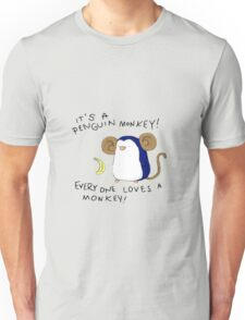 Penguin Monkey Unisex T-Shirt
