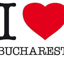 I ♥ BUCHAREST by eyesblau