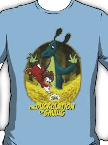 The Duckolation Of Smaug (With Text) T-Shirt