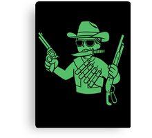 Fallout  - Cowboy Perk Canvas Print