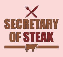 Secretary of Steak Kids Clothes
