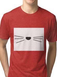 Cat Whisker Design / Danisnotonfire / AmazingPhil Tri-blend T-Shirt