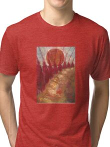 Road On West Tri-blend T-Shirt