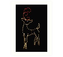 Twinkler, The Other Reindeer Art Print