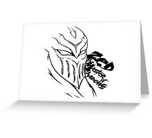 Zed The Master of Shadows | League of Legends Greeting Card
