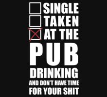 At the pub drinking by SingleTaken