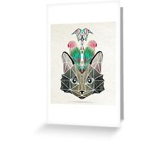cats loves birds Greeting Card