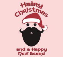 Hairy Christmas, Happy New Beard Kids Clothes