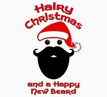 Hairy Christmas, Happy New Beard Unisex T-Shirt