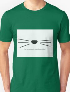 """""""The Cat Whiskers Come From Within."""" Design / Danisnotonfire / Amazingphil Unisex T-Shirt"""