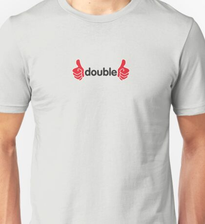 Double thumbs up Unisex T-Shirt