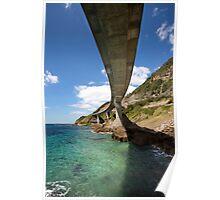 Sea Cliff Bridge Poster