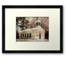 Phillipsport Community Center Framed Print