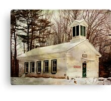 Phillipsport Community Center Canvas Print