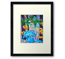 Original Acrylic Painting (Lapien) Framed Print