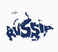 Russia Type Map (Blue) by seanings
