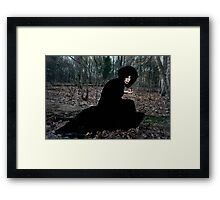 The Witch in the Woods Framed Print