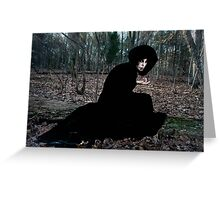 The Witch in the Woods Greeting Card