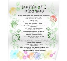 "the life of a pioneer"" sing 140 Poster"