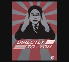 Satoru Iwata Nintendo Direct  - Nintendo Power White Logo   by EdUnderground