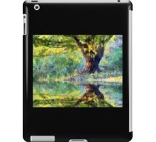 Big Tree Beside Pond iPad Case/Skin