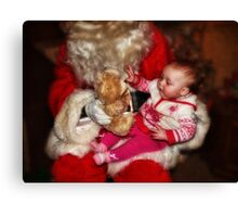 All I want for Christmas... Canvas Print