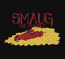 Smaug the Terrible by andirobinson