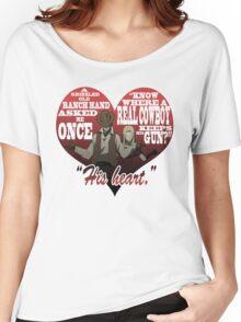 Heart Gun Women's Relaxed Fit T-Shirt
