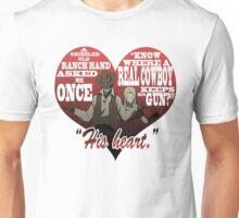 Heart Gun Unisex T-Shirt