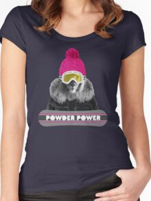 LION WINTER SPORTS Women's Fitted Scoop T-Shirt
