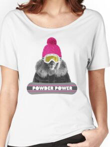 LION WINTER SPORTS Women's Relaxed Fit T-Shirt