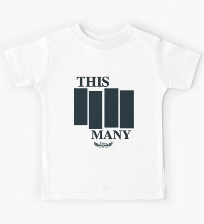 This Many Four Kids Tee