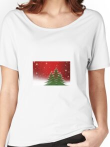 Christmas trees  Women's Relaxed Fit T-Shirt