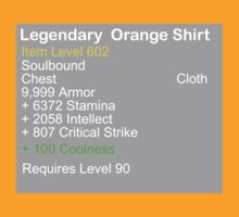 Legendary Orange Shirt by Mystikitten