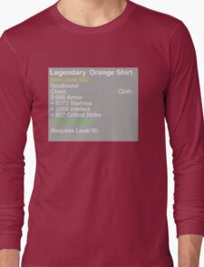 Legendary Orange Shirt Long Sleeve T-Shirt