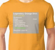 Legendary Orange Shirt Unisex T-Shirt