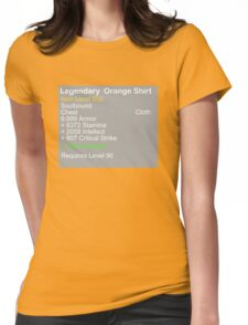 Legendary Orange Shirt Womens Fitted T-Shirt