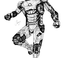 Iron Man Mark 42 by SpartanGFX