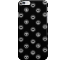 Alien Emoji Pattern 2/2 Dark iPhone Case/Skin