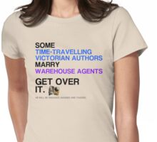 Some Victorians marry Warehouse agents Light Version. Womens Fitted T-Shirt