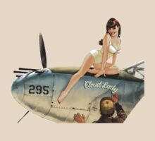 Pin up aircraft by Calliste