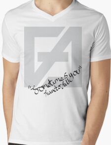 Sometimes you have to fall Mens V-Neck T-Shirt