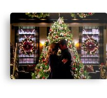 Caskett Christmas Metal Print