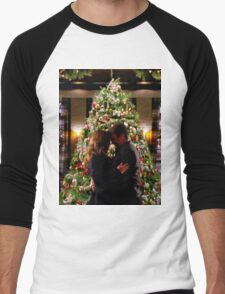 Caskett Christmas Men's Baseball ¾ T-Shirt