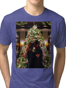 Caskett Christmas Tri-blend T-Shirt
