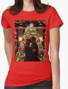 Caskett Christmas Womens Fitted T-Shirt