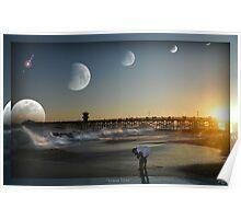 """""""Lunar Tides"""" Poster"""